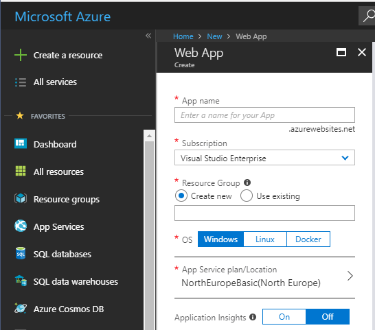 Azure Hosting Wordpress - Win Linux Docker | Dave Mateer's Blog