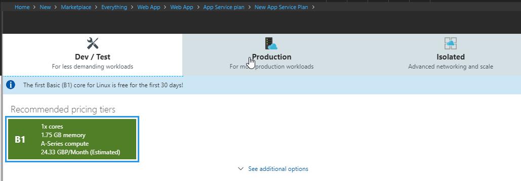 Azure Hosting Wordpress - Win Linux Docker   Dave Mateer's Blog