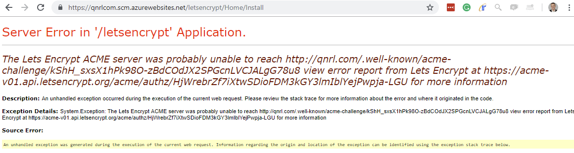 Lets Encrypt | Dave Mateer's Blog