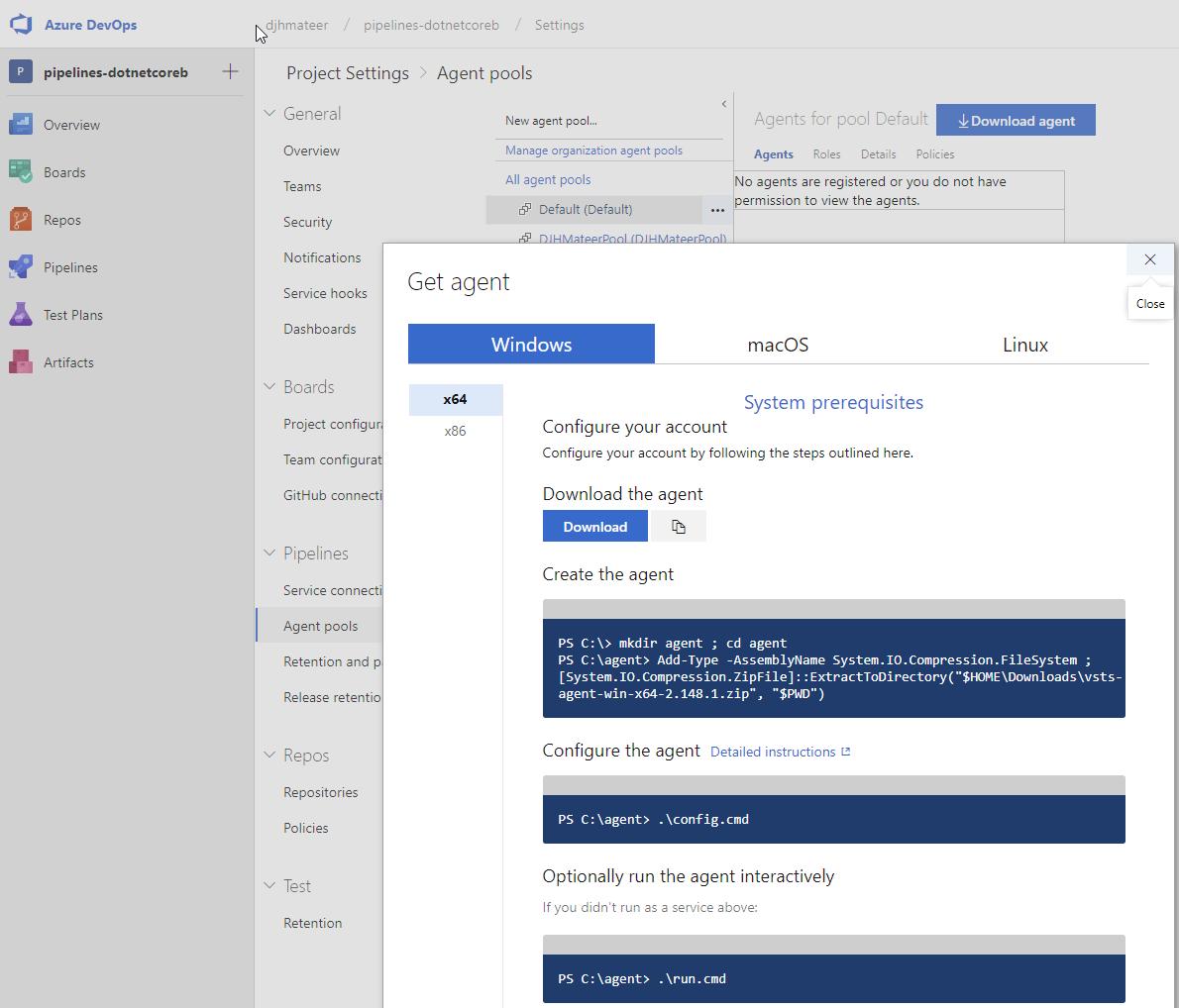 Azure DevOps GUI Pipelines Work in Progress | Dave Mateer's Blog